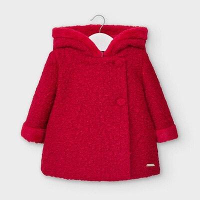 Пальто, з капюшоном, Червоний, Mayoral Іспанія, 21OZ