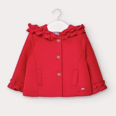 Піджак, з капюшоном, Червоний, Mayoral Іспанія, 21OZ