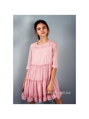 Сукня, в золотистий горошок, Рожевий, Mayoral Іспанія, 20VL