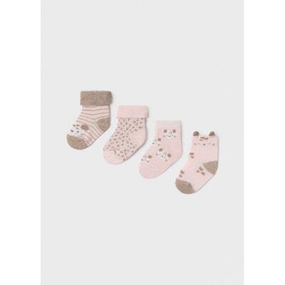Шкарпетки 4 пари, Рожевий, Mayoral Іспанія, 22OZ