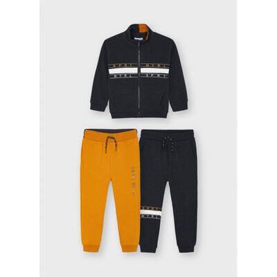 Комплект Спортивний, Кофта + штани 2 шт., утеплений, Темно-сірий, Mayoral Іспанія, 22OZ