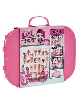 ИГРУШКА Набор, с эксклюзивной куклой LOLSURPRISE! -Показ Мод (ярко-розовый), MGA США