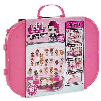ІГРАШКА Набір, з ексклюзивною  лялькою L.O.L.SURPRISE!-Показ Мод (яскраво-рожевий), MGA США