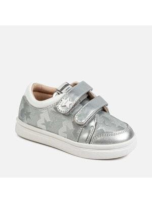 Кросівки, блискучі вставки, Сріблястий, Mayoral Іспанія, 20VL