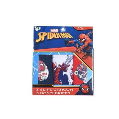 Білизна, труси 3 шт. серія Disney  SPIDER-MAN, Синій, Sun City Франція, 21OZ