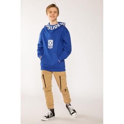 Пуловер, з капюшоном (утеплений), Синій, Reporter young Польща, 21VL