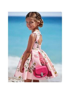 Сукня, в квітах, Рожевий, Abel & lula Іспанія, 21VL