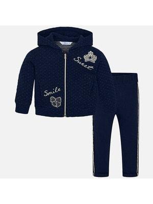 Комплект, Кофта + штани, Темно-синій, Mayoral Іспанія, 20OZ