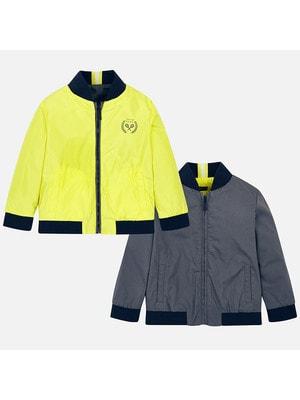 Куртка, двостороння, Сірий, Mayoral Іспанія, 19VL