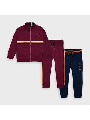 Комплект Спортивний, Кофта + штани 2 шт. (1 - сині), Бордовий, Mayoral Іспанія, 21OZ