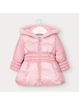 Куртка, з капюшоном, Рожевий, Mayoral Іспанія, 21OZ