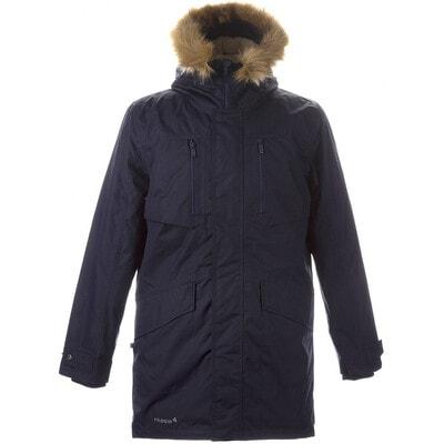 Куртка, з капюшоном DAVID, Темно-синій, HUPPA Естонія, 21OZ