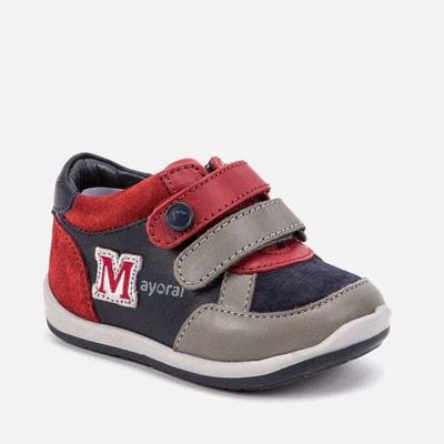 Кросівки, з червоними та сірими вставками, Темно-синій, Mayoral Іспанія, 20OZ