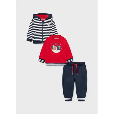 Комплект Спортивний, Кофта + пуловер + штани, Темно-синій, Mayoral Іспанія, 22OZ