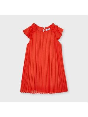 Сукня, в складочку, Кораловий, Mayoral Іспанія, 21VL