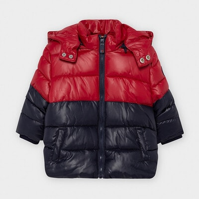 Куртка с капюшоном, Бордовый, Mayoral Испания, 21OZ