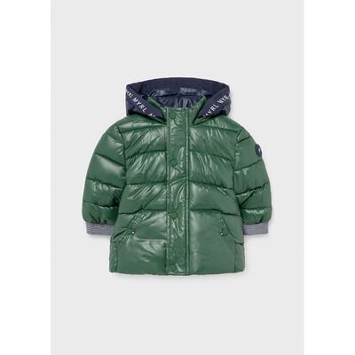 Куртка, з капюшоном, еврозима, Зелений, Mayoral Іспанія, 22OZ