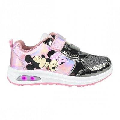 Кросівки, MINNIE (сіра вставка) Cerda, Рожевий, Disney Іспанія, 22OZ