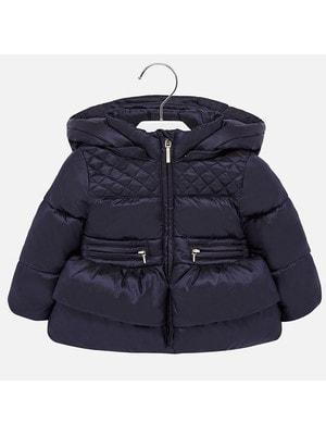 Куртка, з капюшоном, Темно-синій, Mayoral Іспанія, 20OZ