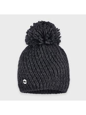 Головной убор шапка темно-серый, Mayoral Испания, 21OZ
