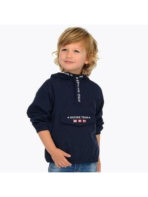 ОДЯГ Хлопчик Верхній Куртка, з капюшоном, Темно-синій, Mayoral Іспанія, 19VL