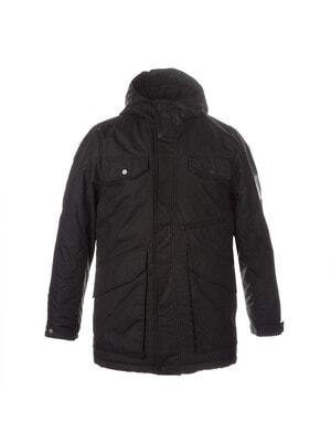 Куртка, з капюшоном VINCET, Чорний, HUPPA Естонія, 21OZ