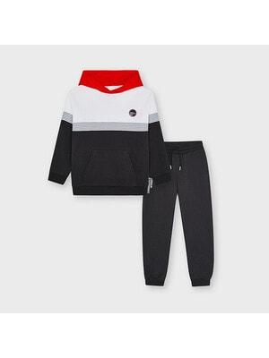 Комплект Спортивний, Пуловер + штани, Темно-сірий, Mayoral Іспанія, 21VL
