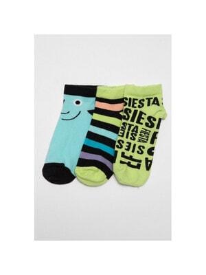Шкарпетки, 3 пари, Зелений, Reporter young Польща, 21VL