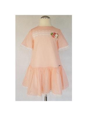 Сукня, біле мереживо, Рожевий, Daga Польща, 19VL