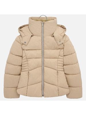 Куртка, з капюшоном, Бежевий, Mayoral Іспанія, 20OZ
