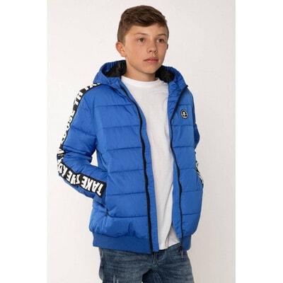 Куртка, з капюшоном, Синій, Reporter young Польща, 21OZ