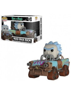 """ІГРАШКА Фігурка, Вінілова  Funko POP! """"Rick and Morty""""   Рік з всесвіту Mad Max, FUNKO США"""