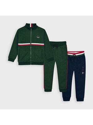 Комплект Спортивний, Кофта + штани 2 шт. (1 - сині), Зелений, Mayoral Іспанія, 21OZ