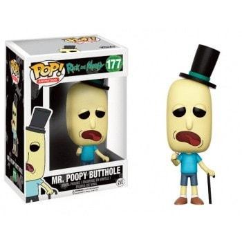 """ІГРАШКА Фігурка, Вінілова Funko POP! """"Rick and Morty""""   Мистер Жопосранчик, FUNKO США"""
