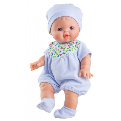 Іграшка Лялька Пупс, Альберт в блакитному одязі 34см, Paola Reina Іспанія