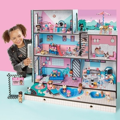 Іграшка Набір, L.O.L меганабір з ляльками - Модний особняк, MGA США