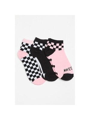 Шкарпетки, 3 пари (1-рожеві), Чорний, Reporter young Польща, 21OZ