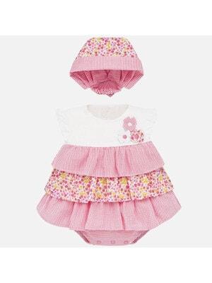 Боді-сукня + косинка, Рожевий, Mayoral Іспанія, 20VL
