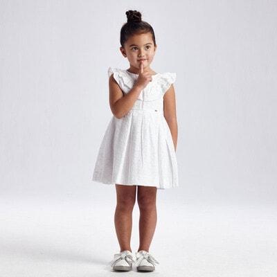 Сукня, Білий, Mayoral Іспанія, 21VL