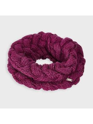Головной убор шарф, Бордовый, Mayoral Испания, 21OZ