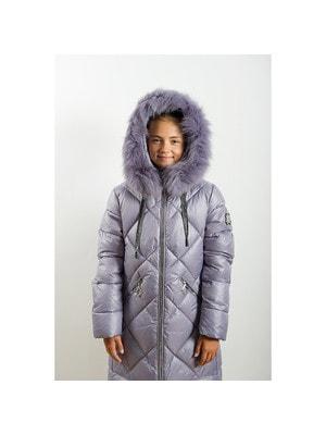 Пальто, з капюшоном, Бузковий, ТМ  Dan`Lo, 20OZ