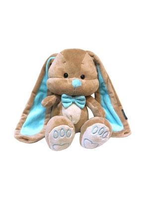 Игрушка Мягкая, Зайчик Жак с голубым бабочкой, 25 см, 3+, Jack Lin КНР