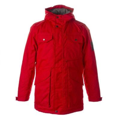 Куртка, з капюшоном VINCET, Червоний, HUPPA Естонія, 21OZ