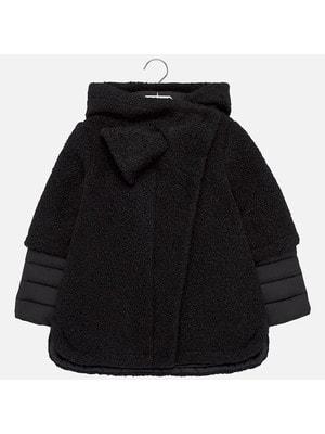 Пальто, з капюшоном, Чорний, Mayoral Іспанія, 20OZ