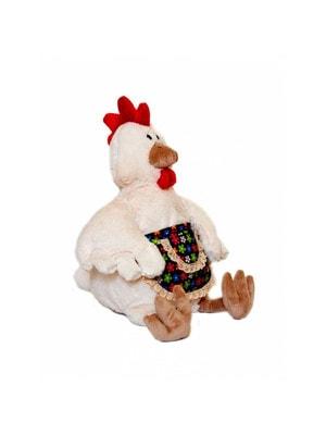 Іграшка М'яка, Курица Марфуша в фартухе 28см, Maxi Toys КНР