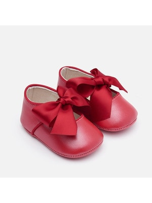 Туфлі, з атласним бантиком, Червоний, Mayoral Іспанія, 20OZ