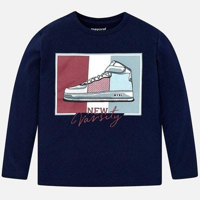 Джемпер, (взуття з паєтками), Темно-синій, Mayoral Іспанія, 20OZ
