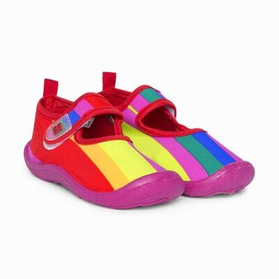 Мокасины, в разноцветные полосы + сумочка, Розовый, TucTuc Испания, 20VL