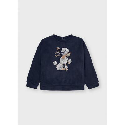 Пуловер, Темно-синій, Mayoral Іспанія, 22OZ