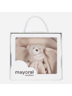 Аксесуари, М'яка іграшка, Бежевий, Mayoral Іспанія, 20OZ